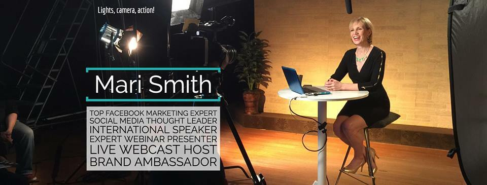 Mari Smith's Facebook page is full of great social media insights