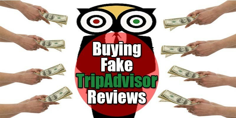 Fake TripAdvisor Reviews
