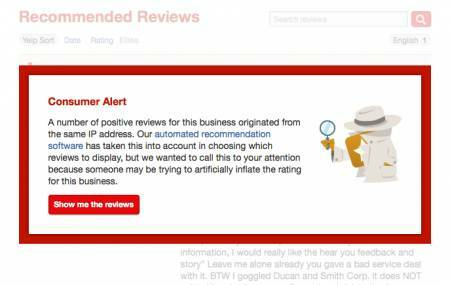 What happens if you buy fake Yelp Reviews