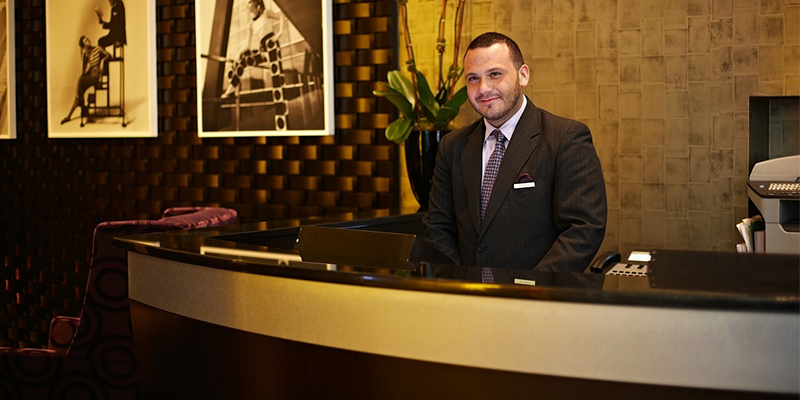 Develop good working relationship with hotel and motel concierges