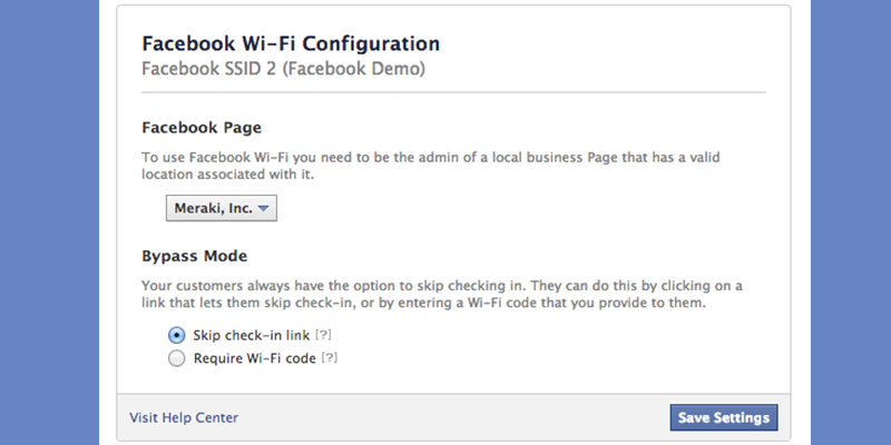 Wireless Router Configuration for Facebook WiFi