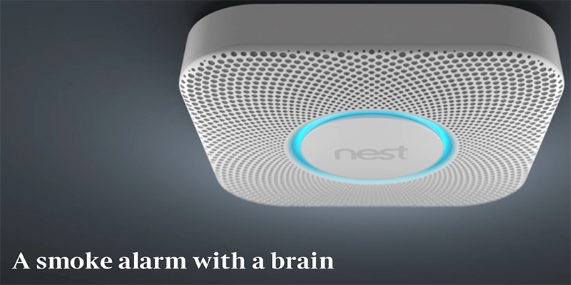 Nest smoke alarms automatically adjust to meet your preferences.