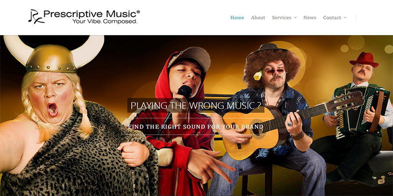 Prescriptive Music is a company that creates soundtracks for restaurants as well as spas and retailers.