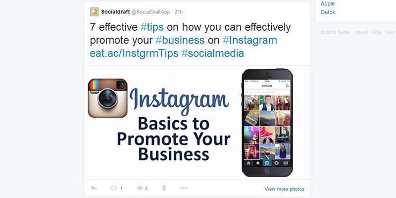 Images can increase engagement on Twitter