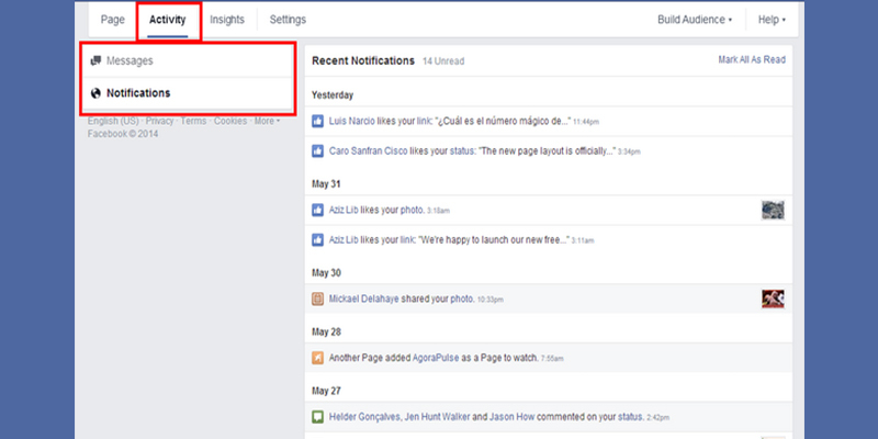 All notifications are now easily accessible Facebook