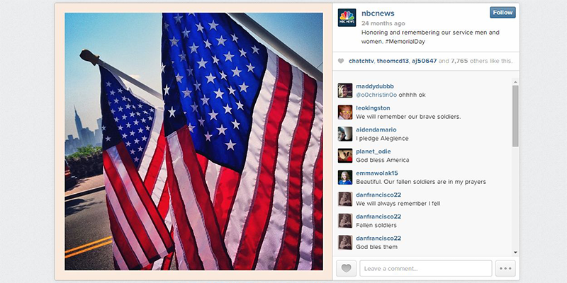 Best Social Media Practices for Memorial Day