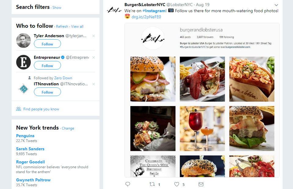 Cross promote your Instagram on other social networks