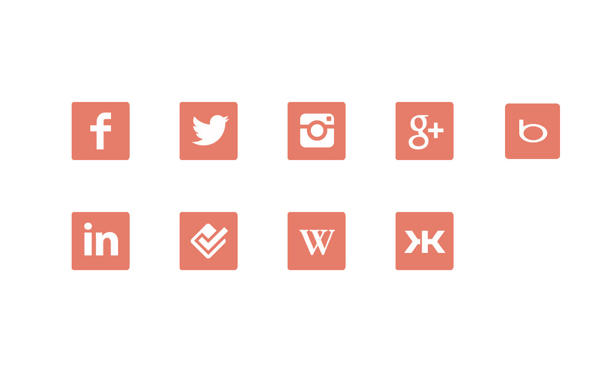 Social networks that Klout measures