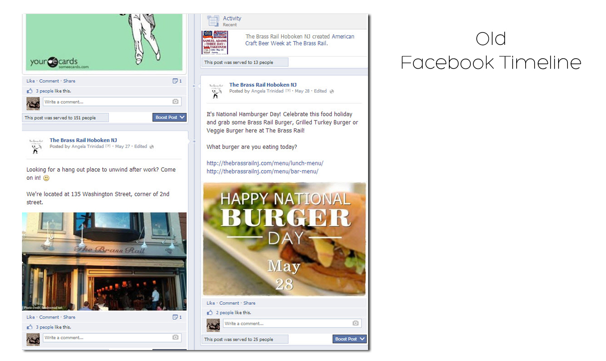 The new facebook timeline is built for mobile