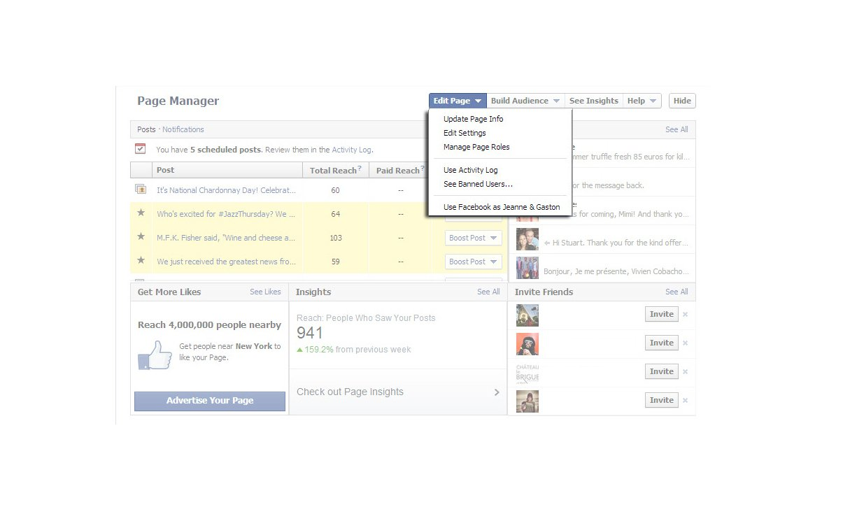 how to add on facebook page
