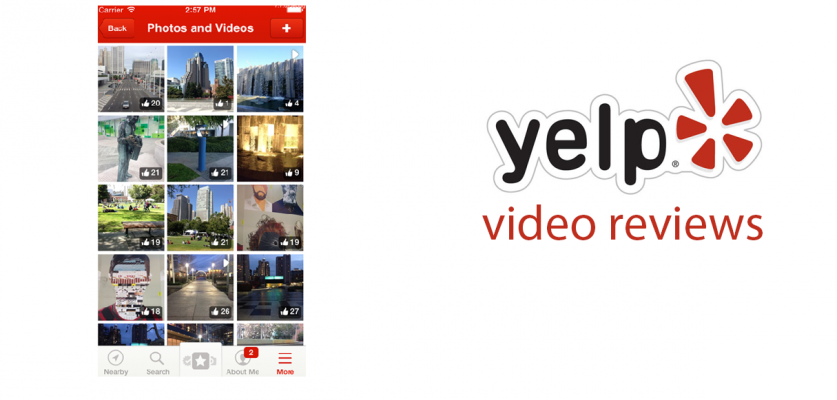 Yelp's video reviews can be up to 12 seconds long