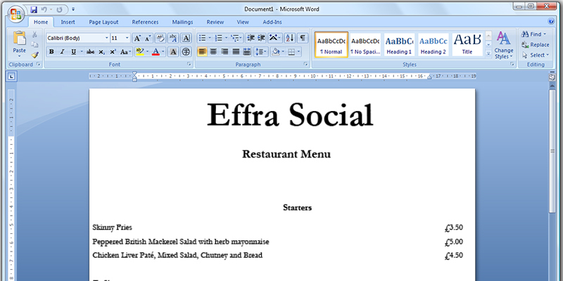 How to Create Restaurant Take Out Menu – How to Make a Restaurant Menu on Microsoft Word