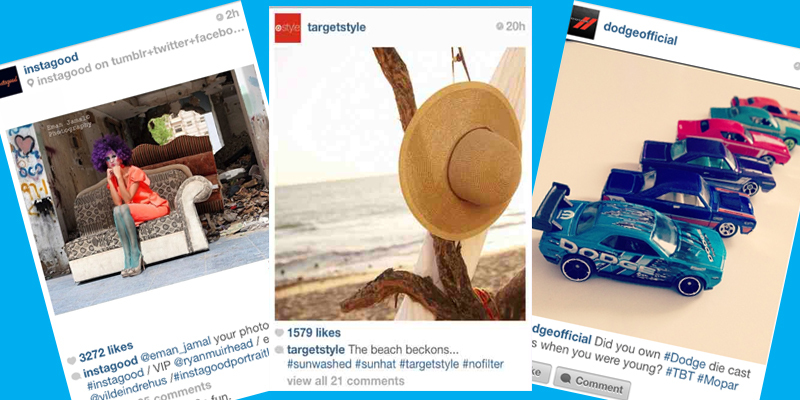 Hashtag Use on Instagram by Fortune 500 Brands