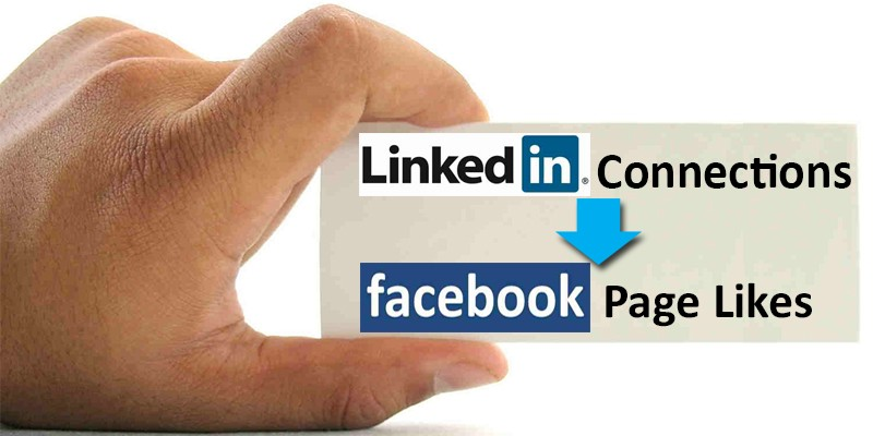 LinkedIn Connections Export to Facebook