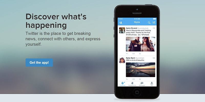 Download Twitter for iPhone