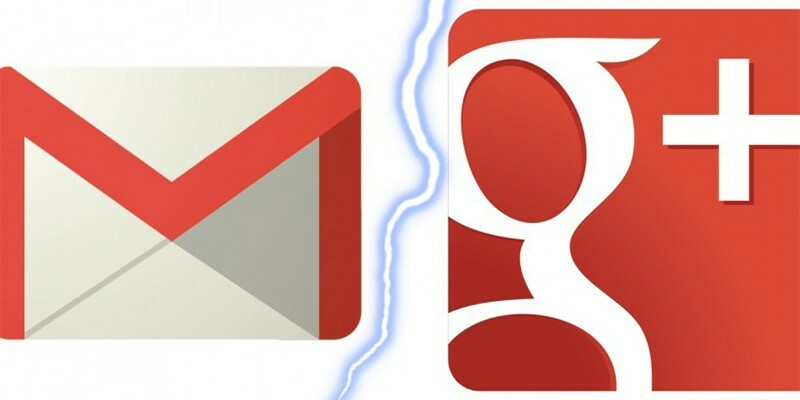 New Gmail Accounts No Longer Require Google+ Signup