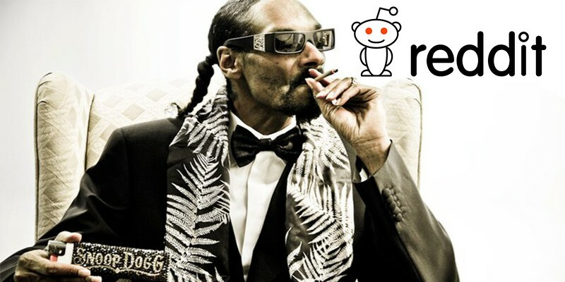 Snoop Dogg invests money on Reddit