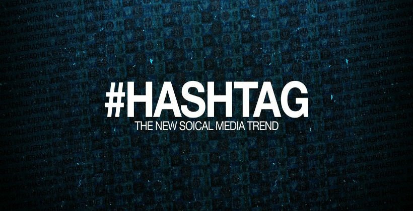 steps on how and where to use hashtags in social media.
