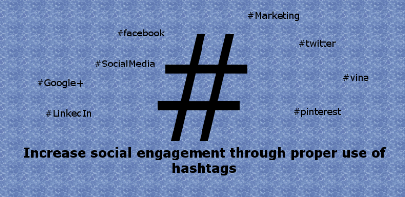 4 steps for proper use of hashtags