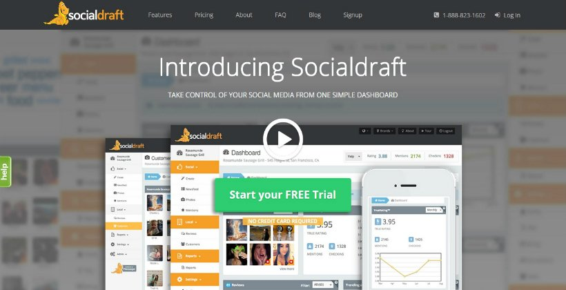 Use Socialdraft to analyze Organic Likes on Facebook