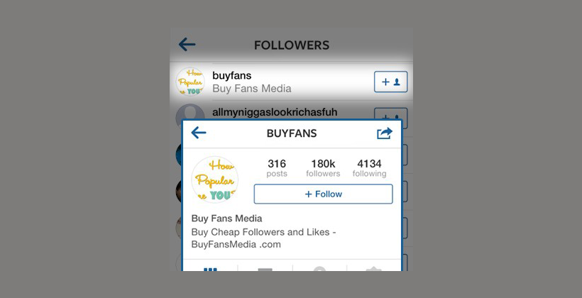 Super Obvious – Followed by Fan Buying Services