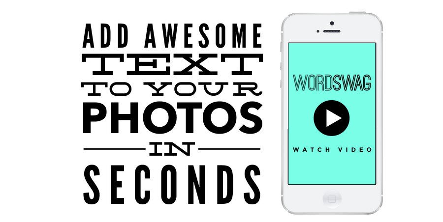 Wordswag is a social media management must