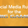 A list of social media rules for social media marketing during the super bowl