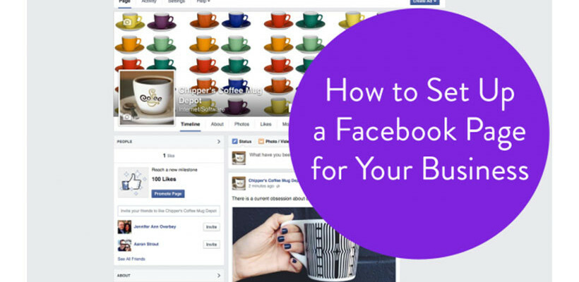 how to set up a business page on facebook youtube