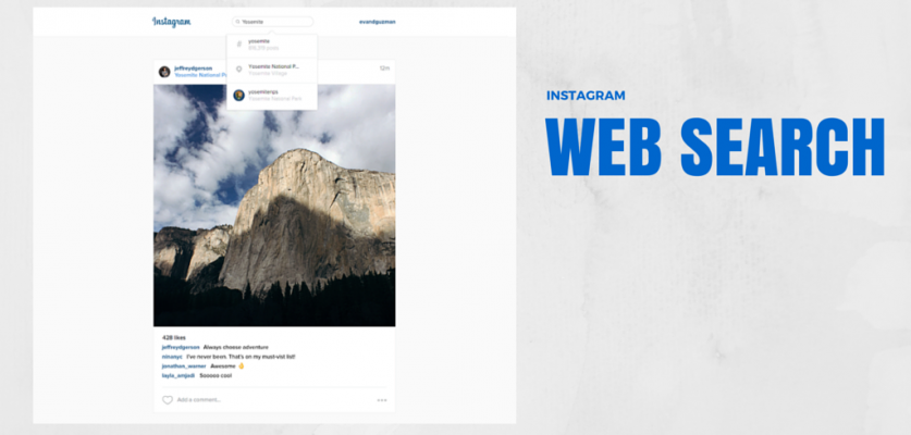 You can now search Instagram on your computer