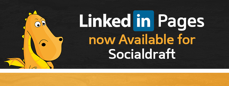 You can schedule posts to LinkedIn Company pages using socialdraft