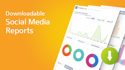 Socialdraft Downloadable Social Media Reports