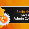 Socialdraft has permissions to give admins power