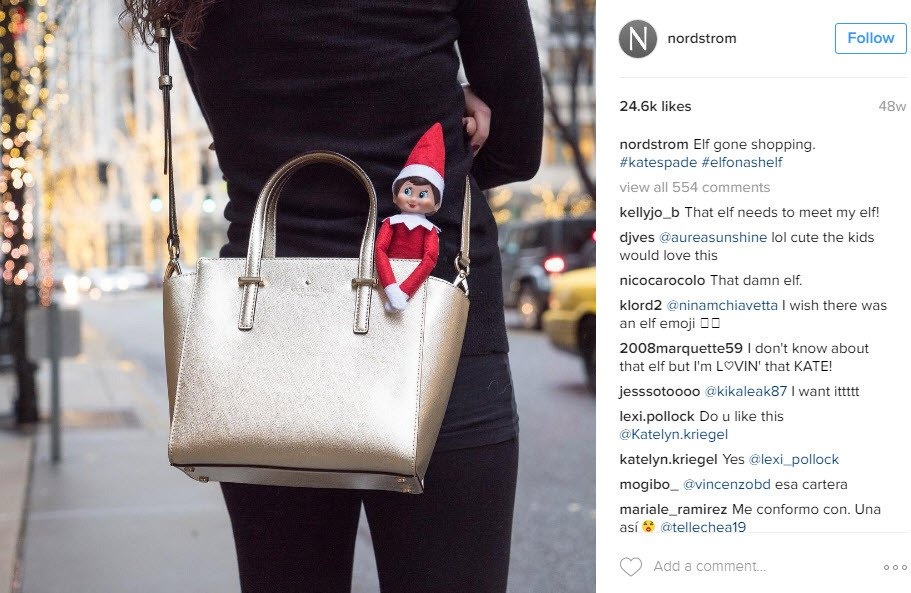 How to user branded hashtags to get higher reach on your Christmas Instagram posts
