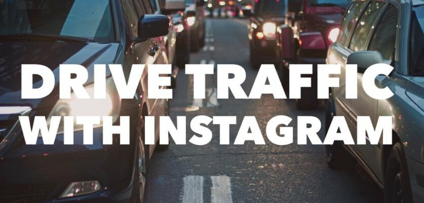 Tricks to drive traffic to your website using Instagram
