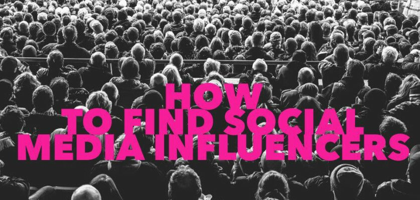 How to find social media influencers for your business