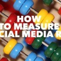 A how to on how to measure your ROI from Social Media