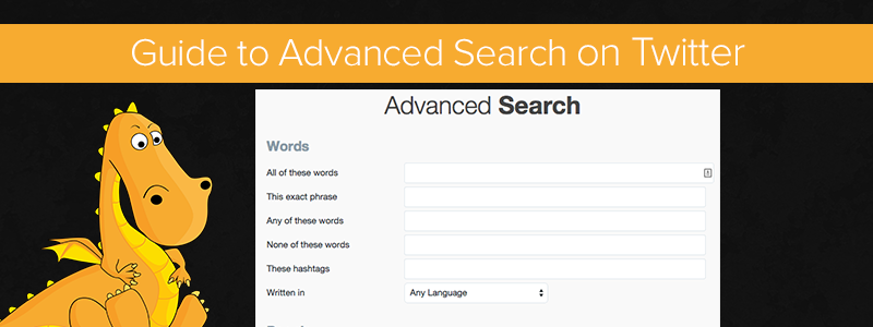The Twitter advanced search is a great tool that is rarely used
