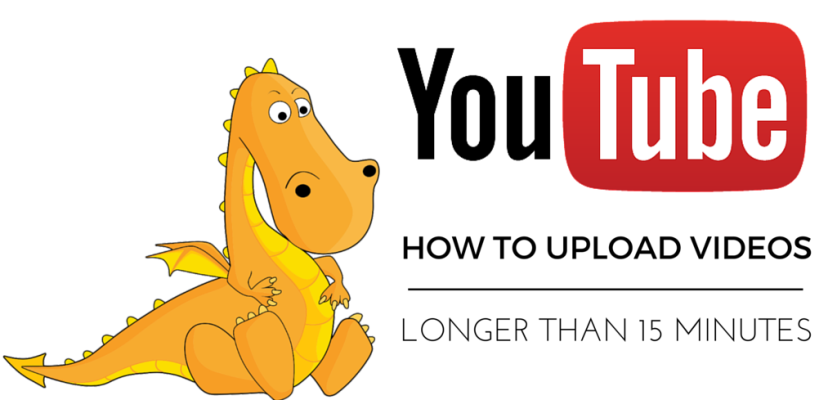 A how to on uploading long videos to youtube