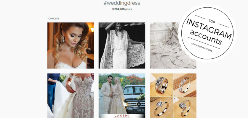 The Best Instagram Accounts to Follow for Wedding Inspiration