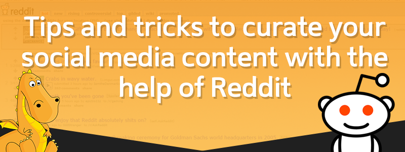 Reddit as a content marketing and curation tool