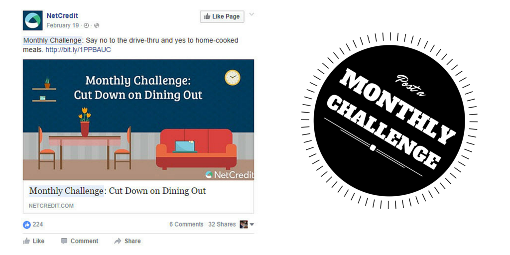 Challenges are great pieces of Social Media content