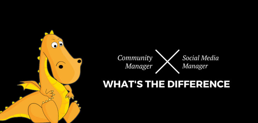 What are the tasks performed by community managers and social media managers