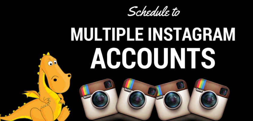 Socialdraft allows you to schedule to multiple instagram accounts