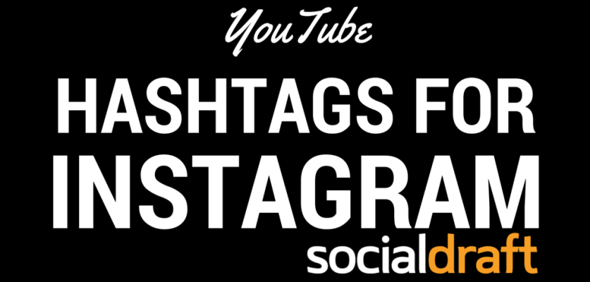 Youtube hashtags for Instagram