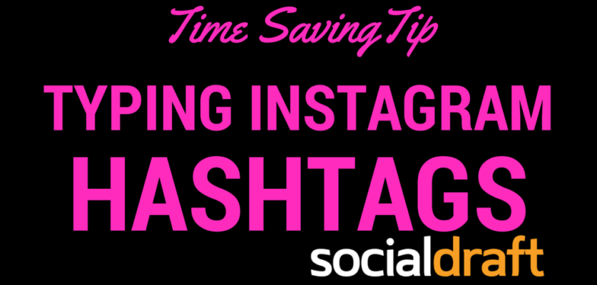 How to save your hashtags into iPhone so you don't have to type them over and over