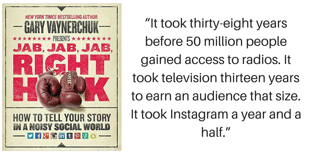 Gary Vee's Jab Jab Jab Right Hook is a social media essential