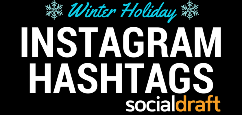Optimized hashtags for the winter season