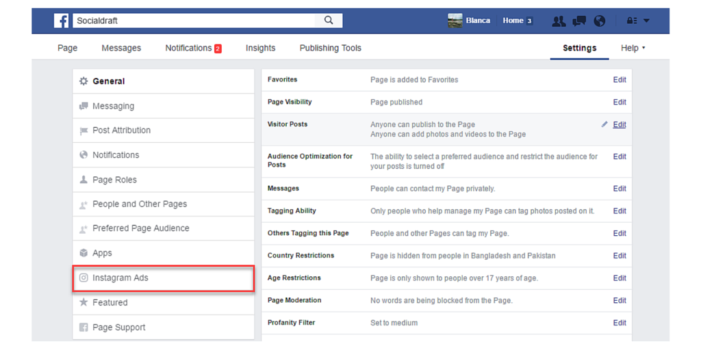 How to run Instagram ads via Facebook