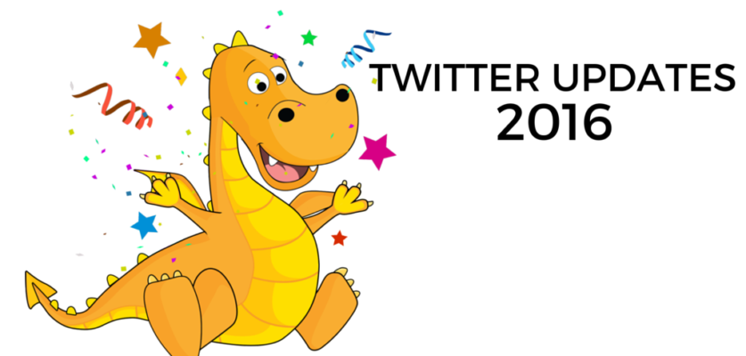 New releases from Twitter Early 2016