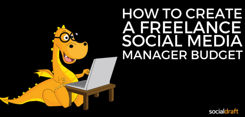 A guide on how to create financials for a social media manager